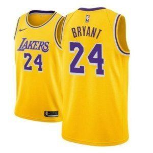 NWT Youth Kobe Bryant Lakers 24# Jersey SZ Various